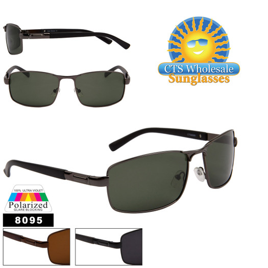 Polarized Wholesale Sunglasses - Style #8095