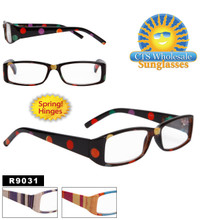 Reading Glasses with Spring Hinges R9031