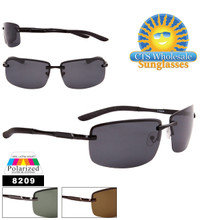 Polarized Wholesale Sunglasses - Style #8209
