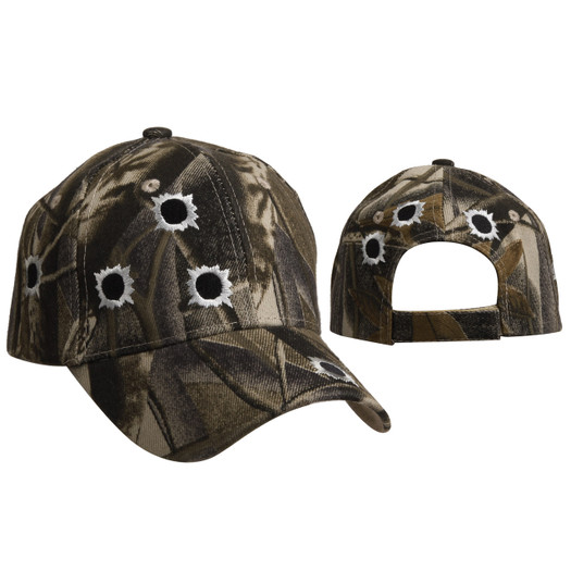 Camo Shotgun Blasts Wholesale Cap C6010