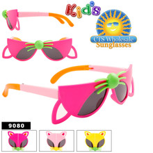 Kid's Wholesale Folding Sunglasses - Style #9080