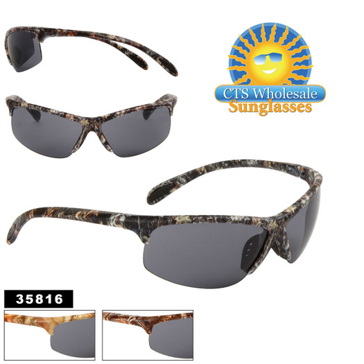 Men's Bulk Sport Sunglasses - Style #35816