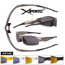 Xsportz™ Sports Sunglasses Wholesale- Style #XS146