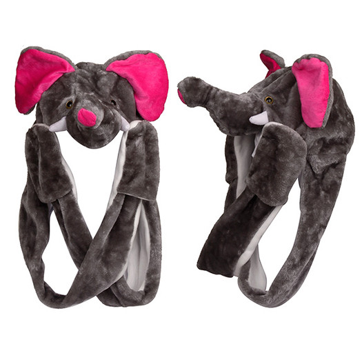 Wholesale Elephant with Long Arms Animal Hat A116