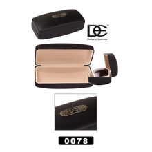 DE™ Designer Eyewear Sunglasses Hard Cases Wholesale 0078