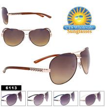 Fashion Aviator Sunglasses Wholesale - Style #6113