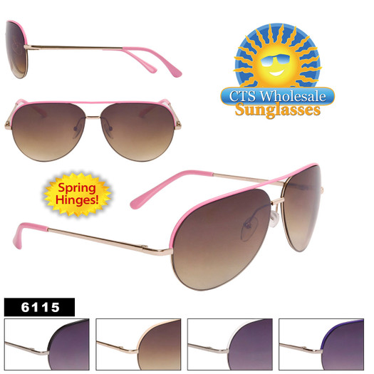 Wholesale  Aviator Sunglasses - Style #6115