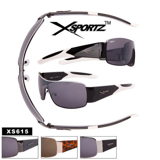 Men's Xsportz™ Single Piece Lens Sunglasses - Style #XS615