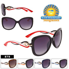 Modish Chic Over-Size Cat Eye Sunglasses  - Style #879