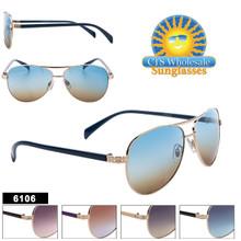 Designer Aviator Sunglasses - Style #6106