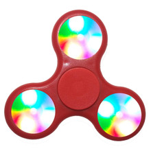 Red LED Fidget Spinners
