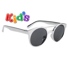 Wholesale Girl's Sunglasses - Style #8238 Silver