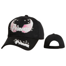 Princess Wholesale Women's Baseball Cap Black