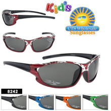 Wholesale Kid's Sunglasses with Flames - Style #8242