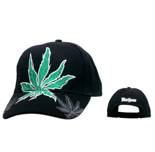 Marijuana Leaf Wholesale Baseball Cap