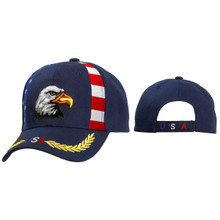 Wholesale Cap C5146 Blue Bald Eagle