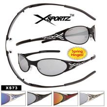 Wholesale Xsportz™ Sunglasses - Style #XS73 Spring Hinges