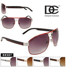 DE™ Wholesale Aviator Sunglasses - Style # DE587