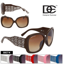 DE74 Designer Eyewear Wholesale Sunglasses