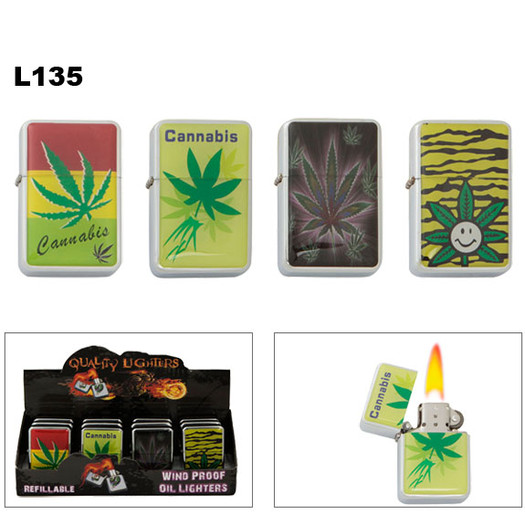 Wholesale Pot Leaf Lighters