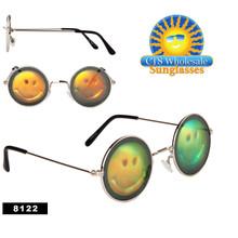 Smiley Face Hologram Sunglasses 8122