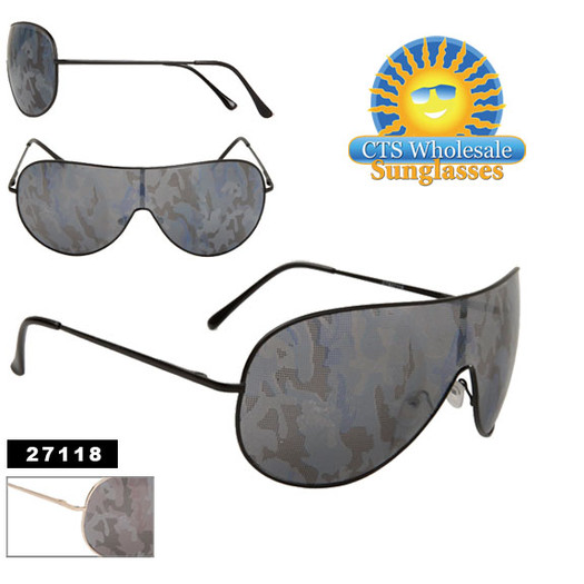 Novelty Camouflage Lens Sunglasses
