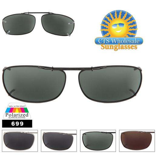 Polarized Clip On Sunglasses 699