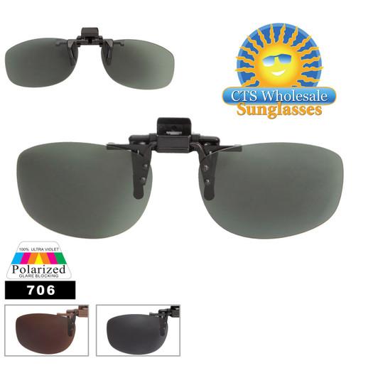 Wholesale Clip On Sunglasses 706