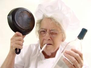 Neger Oma braucht einen Fick