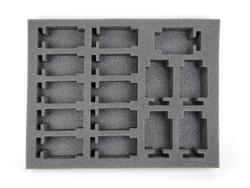 (Dark Eldar) 15 New Hellion Foam Tray (DE12BFL-2)