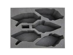 (Dark Eldar) 3 New Raveger 2 Raider Foam Tray (DE10BFL-6)