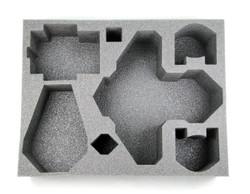 (Space Marines) Blood Angels Stormraven 1 Drop Pod 1 Predator Foam Tray (SM21BFL-4.5)