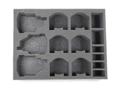 (Space Marines) 3 Speeder 6 Dreadnought 4 Attack Bike Foam Tray (SM12BFL-3)