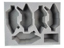 (Dark Eldar) 5 NEW Dark Eldar Raider Foam Tray (DE07BFL-6)