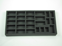 (British) Flames of War British Armored Squadron Stuart Option Foam Tray (UK03BFM-1.5)