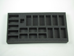 (FMG) Flames of War Firestorm Market Garden German Tanks and Panzergrenadier Platoon Foam Tray (FMG02BFM-1.5)