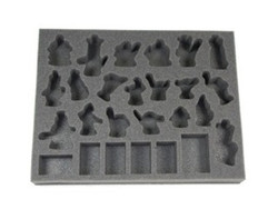 (Space Marines) Space Marine Named Character Troop Foam Tray  (BFL-1.5)