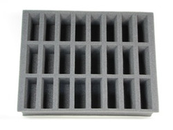 (Dark Elves) 24 Cavalry Foam Tray (W01BFL-4)
