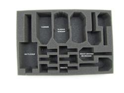 Dindrenzi Federation Starter Box Foam Tray (BFS-1.5)