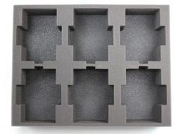 (Space Marines) 6 Predator Foam Tray (BFL-3)