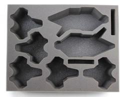 (Dark Eldar) 2 Raider 5 Venom Foam Tray (BFL-4)