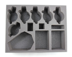 (Space Marines) 5 Space Wolves Thunderwolf 1 Drop Pod 2 Rhino Foam Tray (BFL)