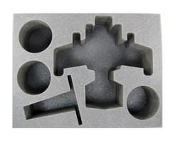 (Ork) 1 Ork Bommer 3 Black Reach Deffkopta Foam Tray (BFL-3.5)