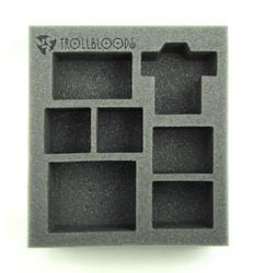 Trollbloods Starter Demo Half Foam Tray (PP.5-2.5)