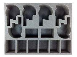 (Tau) 6 New Broadside 8 Crisis Suit Foam Tray (BFL-3)