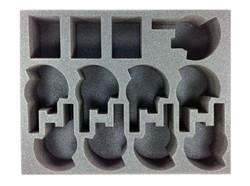 (Tau) 9 New Broadside 3 Crisis Suit Foam Tray (BFL-3)