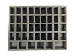 (Gen) 32mm 36 Medium 6 Large Troop Foam Tray (BFL-1.5)