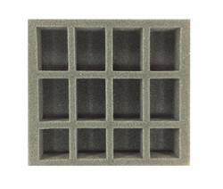 (W/H) Oversized Small Troop Half Foam Tray (PP.5-1.5)