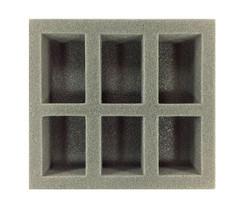 (W/H) Oversized Medium Troop Half Foam Tray (PP.5-2)