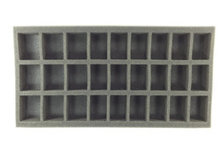 (Space Marine) 27 Assault Marine Foam Tray (BFM)
